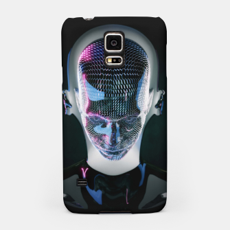 Thumbnail image of Abstract Portrait V Samsung Case, Live Heroes