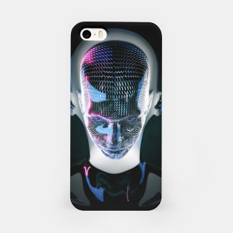 Thumbnail image of Abstract Portrait V iPhone Case, Live Heroes