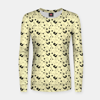 Thumbnail image of Cute cartoon birdies, simple animal illustration Women sweater, Live Heroes