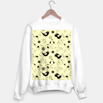 Miniatur Cute cartoon birdies, simple animal illustration Sweater regular, Live Heroes