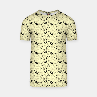 Miniatur Cute cartoon birdies, simple animal illustration T-shirt, Live Heroes