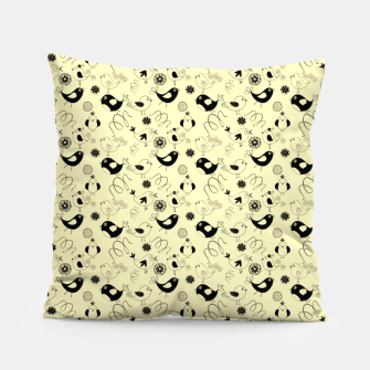 Miniatur Cute cartoon birdies, simple animal illustration Pillow, Live Heroes