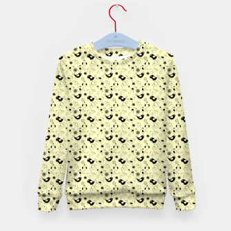 Miniatur Cute cartoon birdies, simple animal illustration Kid's sweater, Live Heroes