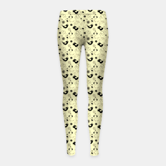 Miniature de image de Cute cartoon birdies, simple animal illustration Girl's leggings, Live Heroes