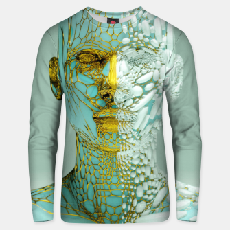 Thumbnail image of Abstract Portrait VI Unisex sweater, Live Heroes