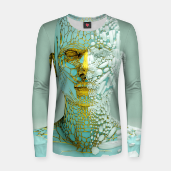 Thumbnail image of Abstract Portrait VI Women sweater, Live Heroes