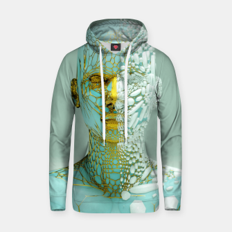Thumbnail image of Abstract Portrait VI Hoodie, Live Heroes