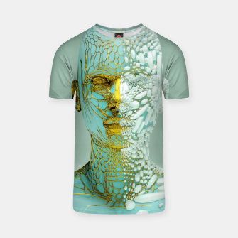 Thumbnail image of Abstract Portrait VI T-shirt, Live Heroes