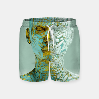 Thumbnail image of Abstract Portrait VI Swim Shorts, Live Heroes