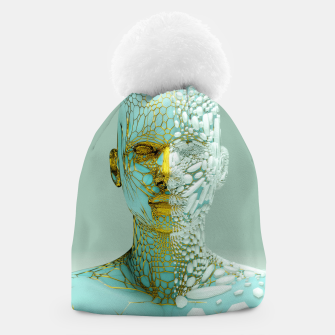 Thumbnail image of Abstract Portrait VI Beanie, Live Heroes