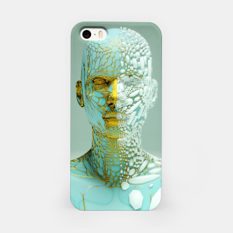 Thumbnail image of Abstract Portrait VI iPhone Case, Live Heroes