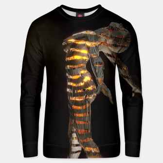 Thumbnail image of Abstract Portrait VII Unisex sweater, Live Heroes