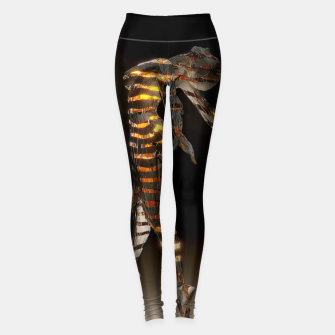 Thumbnail image of Abstract Portrait VII Leggings, Live Heroes