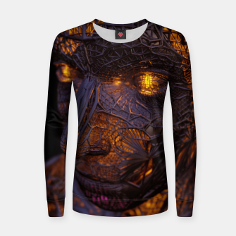 Thumbnail image of Abstract Portrait VIII Women sweater, Live Heroes
