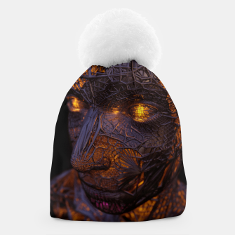 Thumbnail image of Abstract Portrait VIII Beanie, Live Heroes