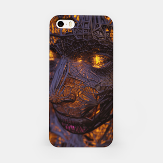 Thumbnail image of Abstract Portrait VIII iPhone Case, Live Heroes