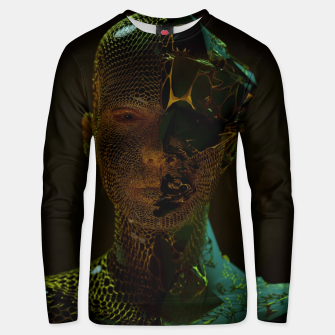 Thumbnail image of Abstract Portrait IV Unisex sweater, Live Heroes