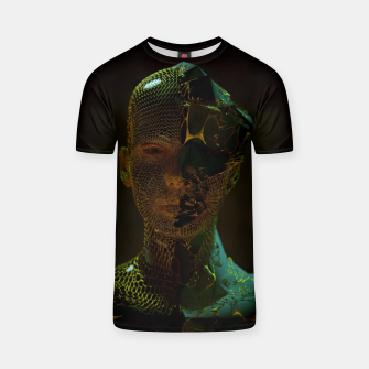Thumbnail image of Abstract Portrait IV T-shirt, Live Heroes