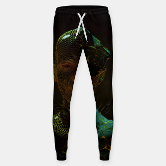 Thumbnail image of Abstract Portrait IV Sweatpants, Live Heroes