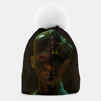 Thumbnail image of Abstract Portrait IV Beanie, Live Heroes