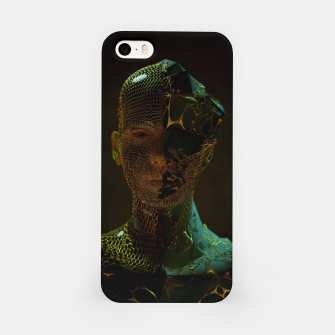 Thumbnail image of Abstract Portrait IV iPhone Case, Live Heroes