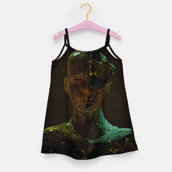 Thumbnail image of Abstract Portrait IV Girl's dress, Live Heroes