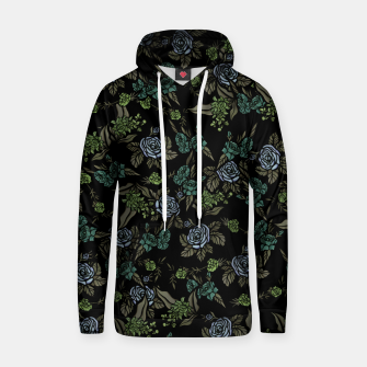 Thumbnail image of Green Floral Hoodie, Live Heroes