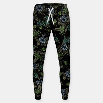 Thumbnail image of Green Floral Sweatpants, Live Heroes