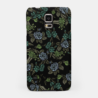 Miniatur Green Floral Samsung Case, Live Heroes