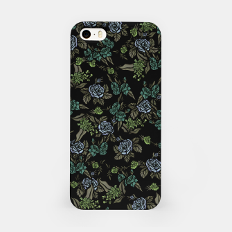 Miniatur Green Floral iPhone Case, Live Heroes