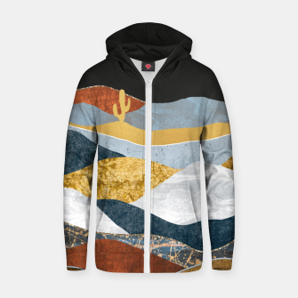 Thumbnail image of Desert Cold I Zip up hoodie, Live Heroes