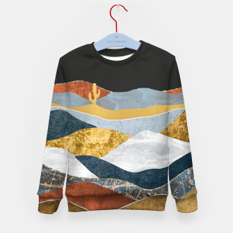 Thumbnail image of Desert Cold I Kid's sweater, Live Heroes