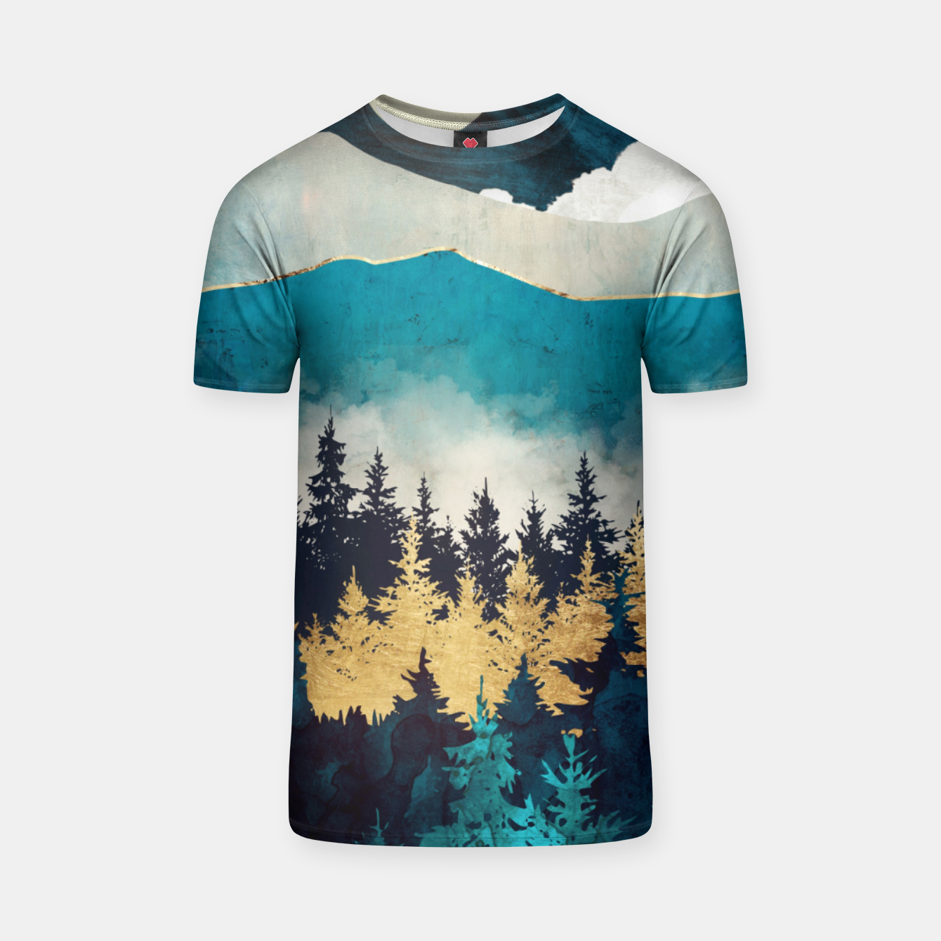 Image of Evening Mist T-shirt - Live Heroes