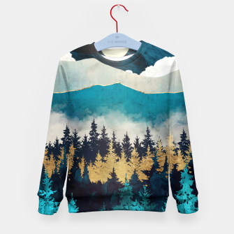 Thumbnail image of Evening Mist Kid's sweater, Live Heroes