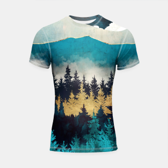 Thumbnail image of Evening Mist Shortsleeve rashguard, Live Heroes