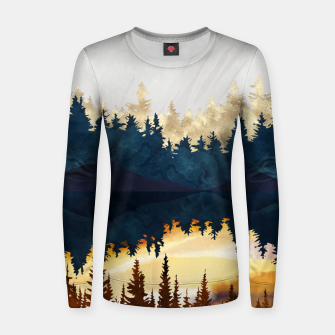 Thumbnail image of Fall Sunset II Women sweater, Live Heroes