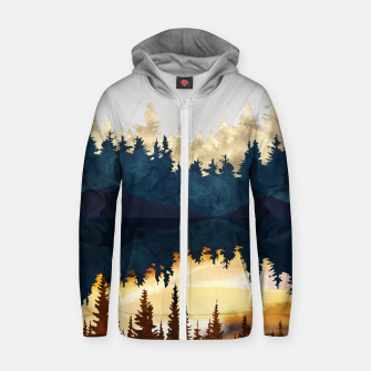 Thumbnail image of Fall Sunset II Zip up hoodie, Live Heroes