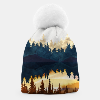 Thumbnail image of Fall Sunset II Beanie, Live Heroes
