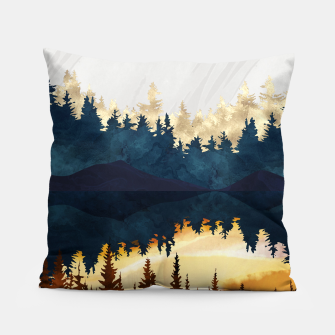 Thumbnail image of Fall Sunset II Pillow, Live Heroes