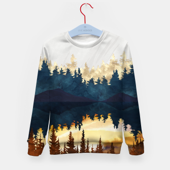 Thumbnail image of Fall Sunset II Kid's sweater, Live Heroes