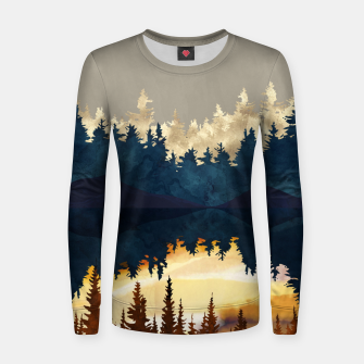 Thumbnail image of Fall Sunset I Women sweater, Live Heroes