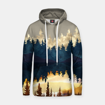 Thumbnail image of Fall Sunset I Hoodie, Live Heroes