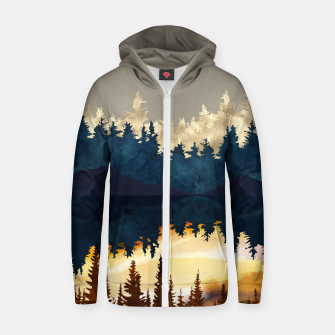 Thumbnail image of Fall Sunset I Zip up hoodie, Live Heroes