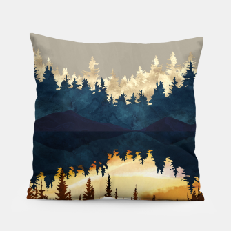 Thumbnail image of Fall Sunset I Pillow, Live Heroes