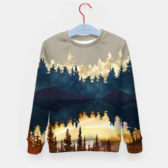 Thumbnail image of Fall Sunset I Kid's sweater, Live Heroes
