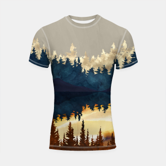 Thumbnail image of Fall Sunset I Shortsleeve rashguard, Live Heroes