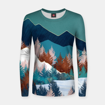 Thumbnail image of Summer Trees Women sweater, Live Heroes