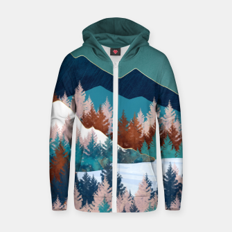Summer Trees Zip up hoodie thumbnail image