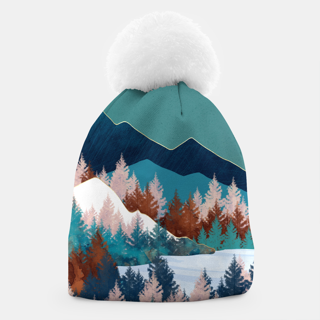 Image of Summer Trees Beanie - Live Heroes
