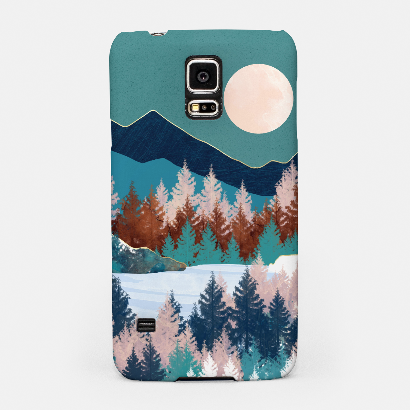 Image of Summer Trees Samsung Case - Live Heroes